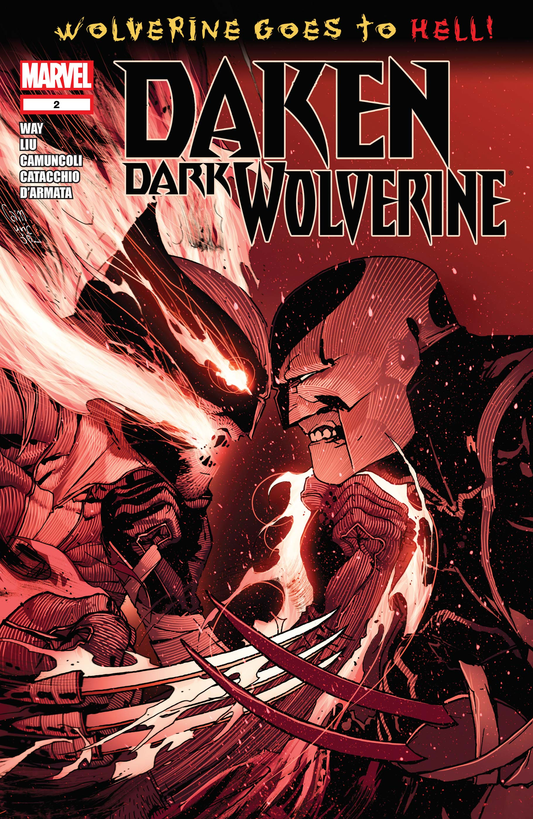 Daken: Dark Wolverine (2010) #2