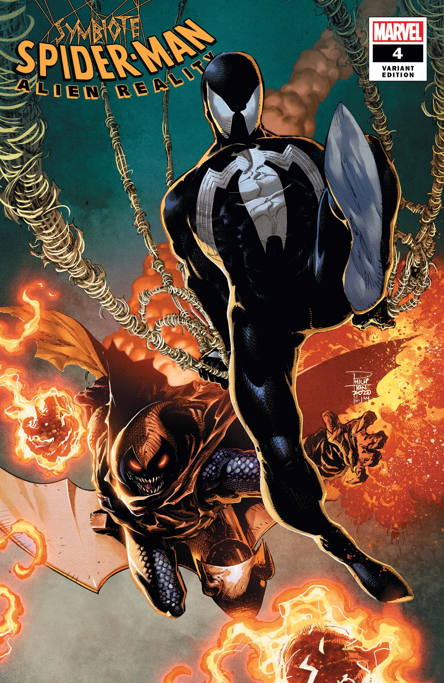 Symbiote Spider-Man: Alien Reality (2019) #4 (Variant)