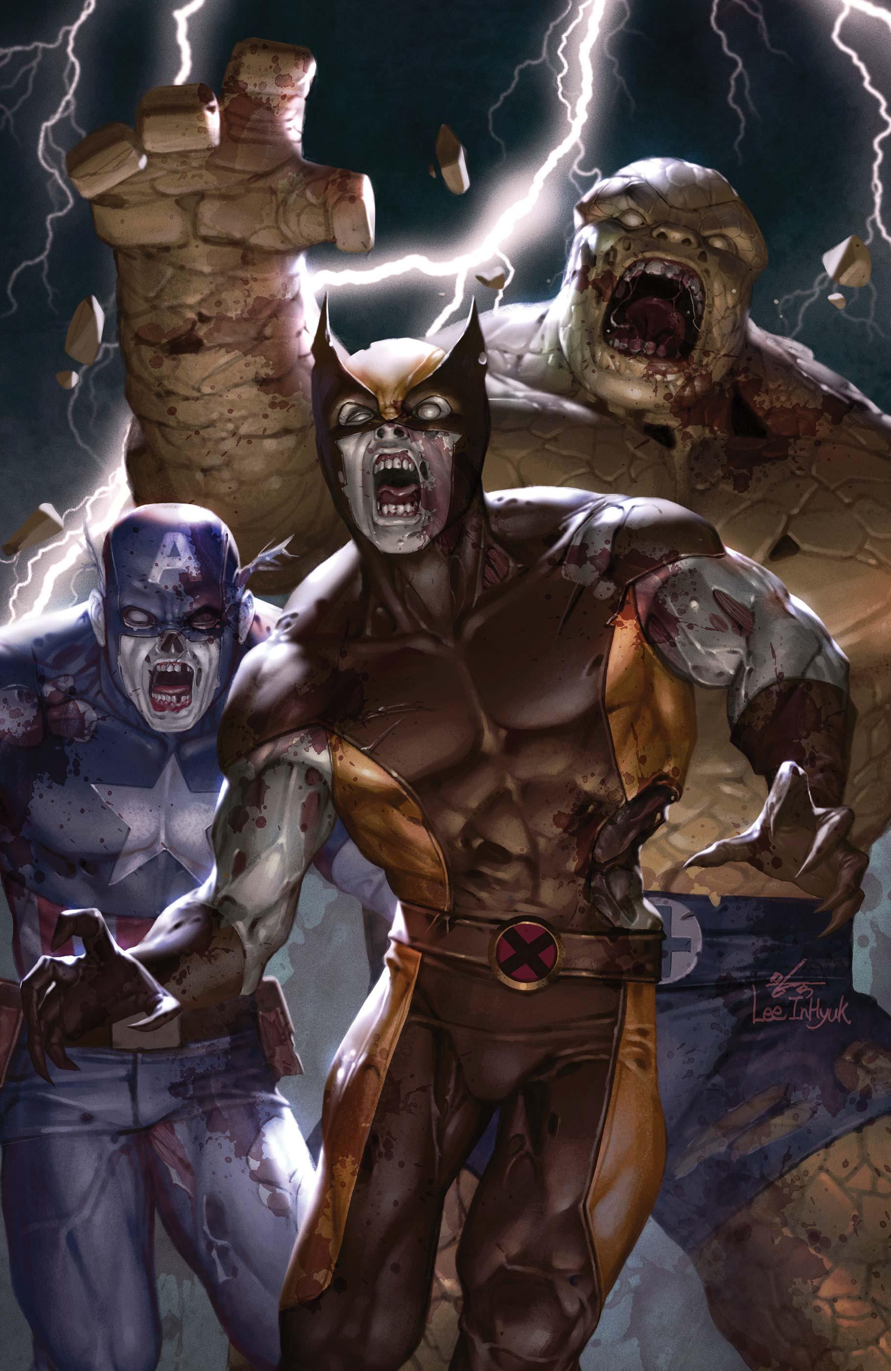 The Original Marvel Zombies: Marvel Tales (2020) #1 (Variant)