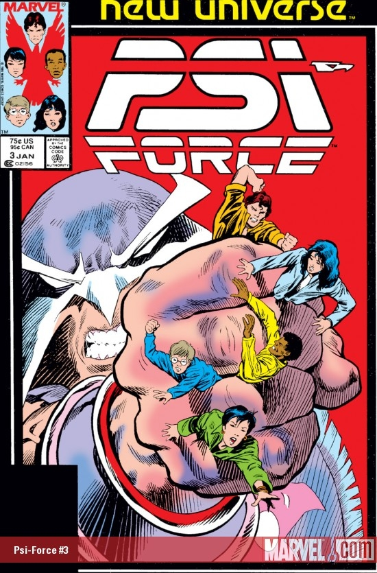 Psi-Force (1986) #3