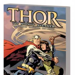 Thor the Mighty Avenger Vol. 1: The God Who Fell to Earth GN-TPB (2010)