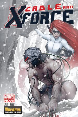 Cable and X-Force (2012) #9 (Christopher Wolverine Costume Variant)