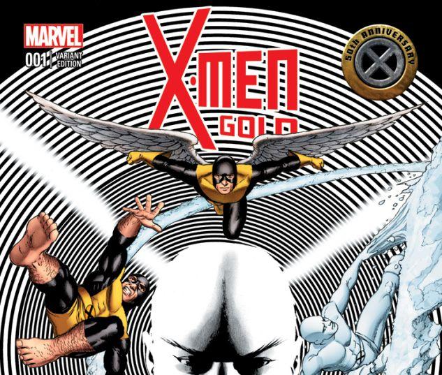 X-MEN: GOLD 1 CASSADAY VARIANT (WITH DIGITAL CODE)
