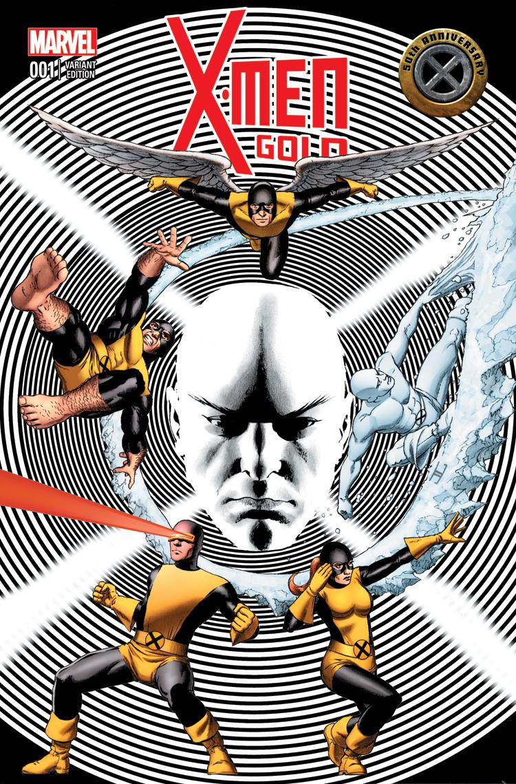 Uncanny X-Men 50th Anniversary (2013) #1 (Cassaday Variant)