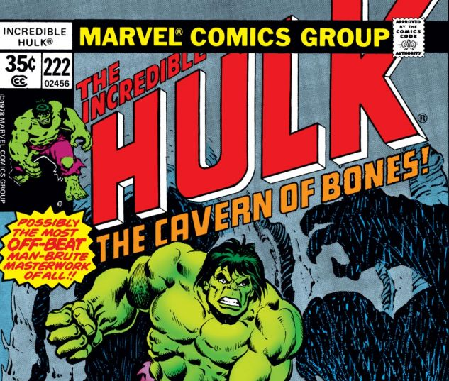 Incredible Hulk (1962) #222 Cover