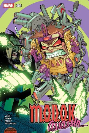 M.O.D.O.K. Assassin #5