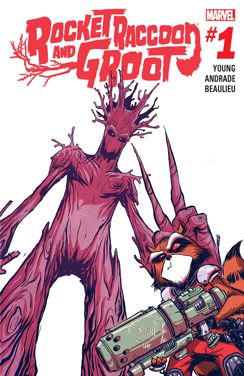 Rocket Raccoon & Groot (2016) #1