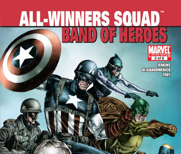 All-Winners Squad: Band of Heroes (2011) #3 Cover