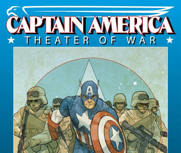 CAPTAIN AMERICA THEATER OF WAR: TO SOLDIER ON (2009) #1 Cover