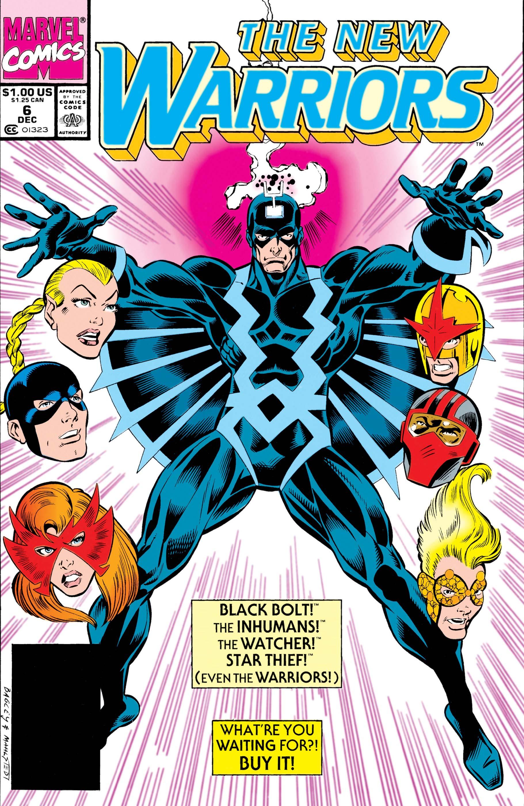 New Warriors (1990) #6