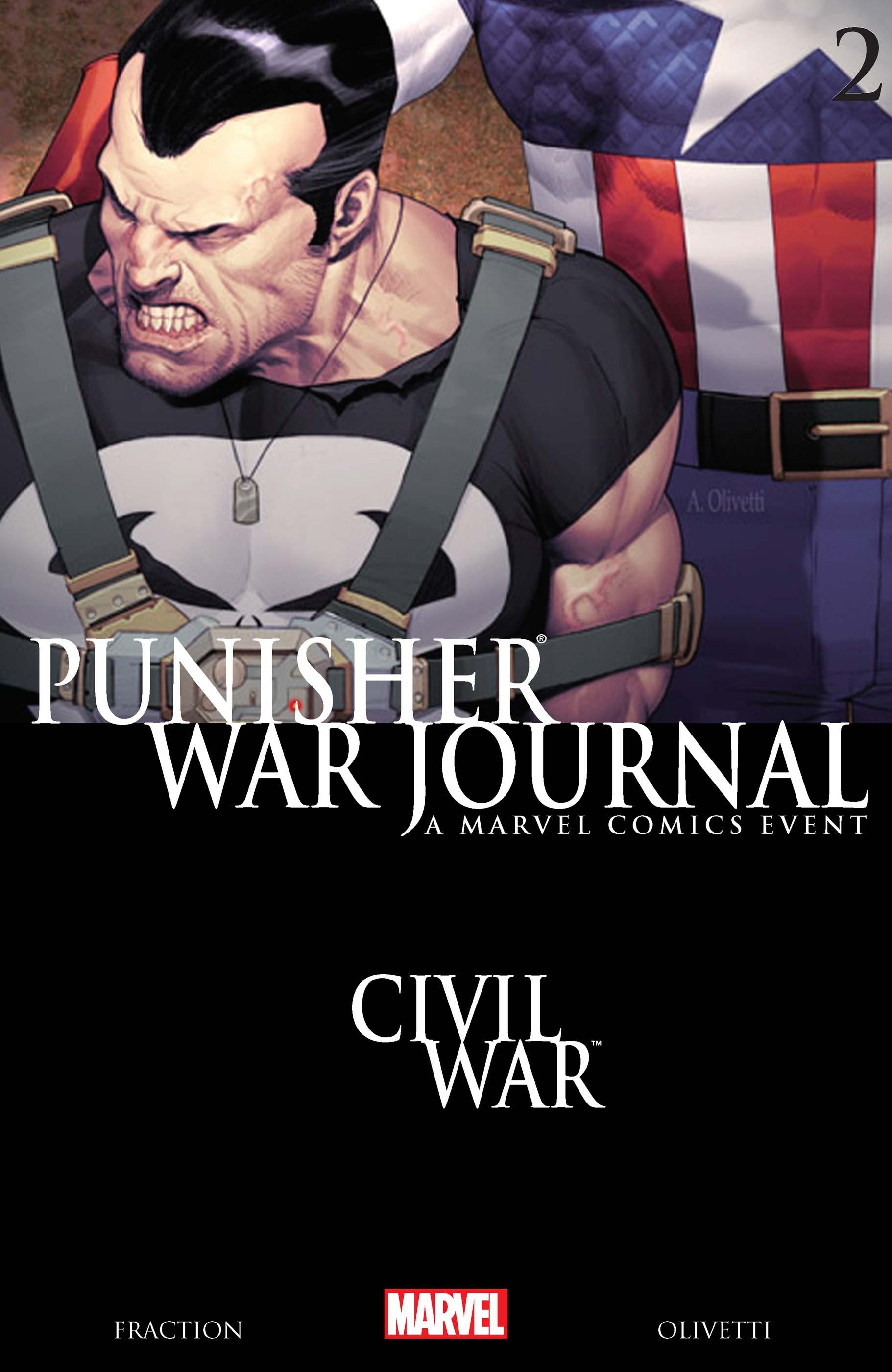 Punisher War Journal (2006) #2