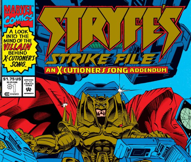 Stryfe's Strike File (1993) #1