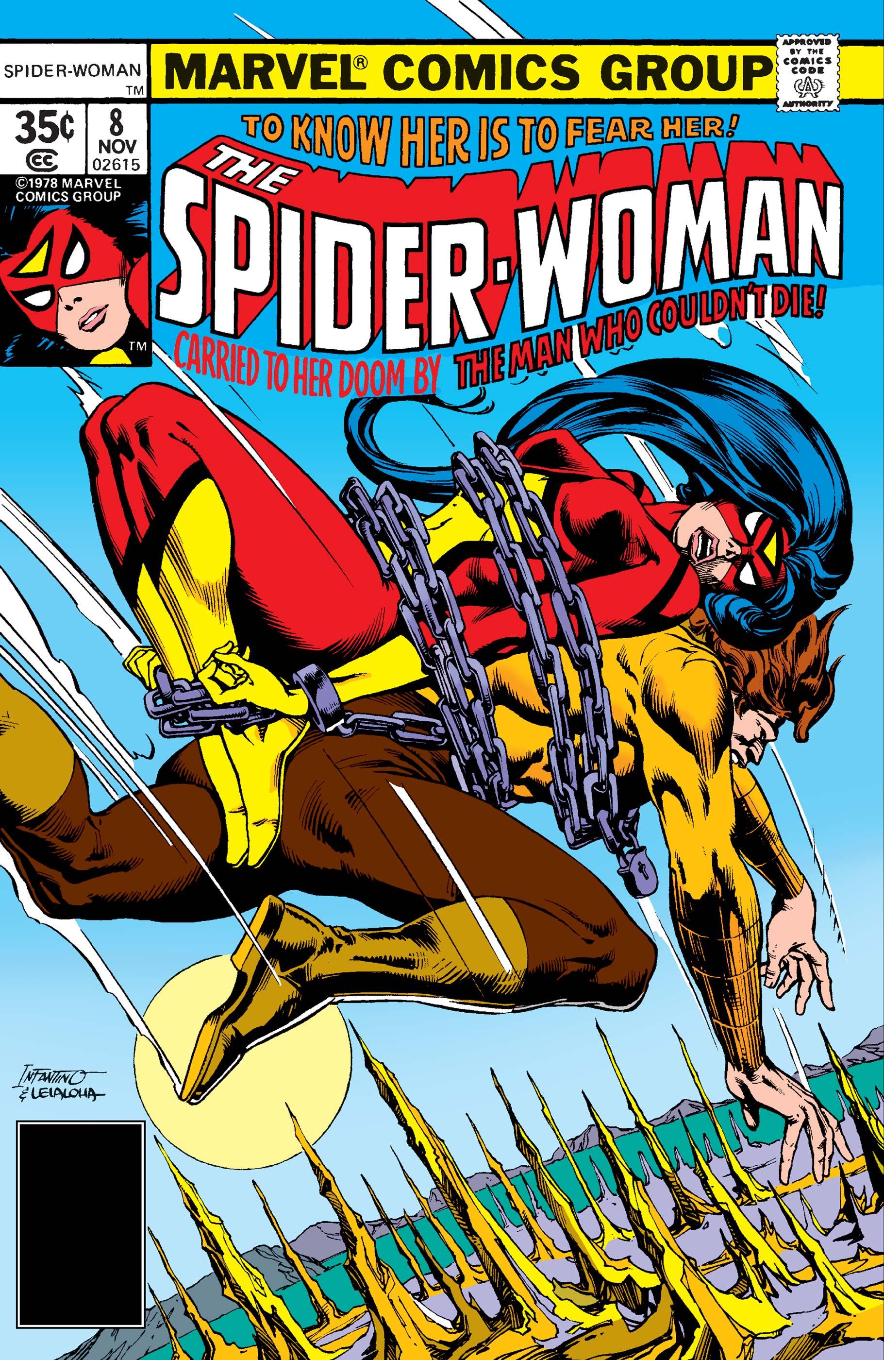 Spider-Woman (1978) #8