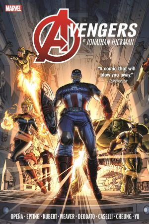 Avengers by Jonathan Hickman Omnibus Vol. 1 (Hardcover)