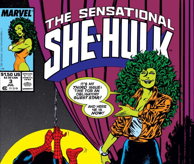 Cover for SENSATIONAL SHE-HULK #3
