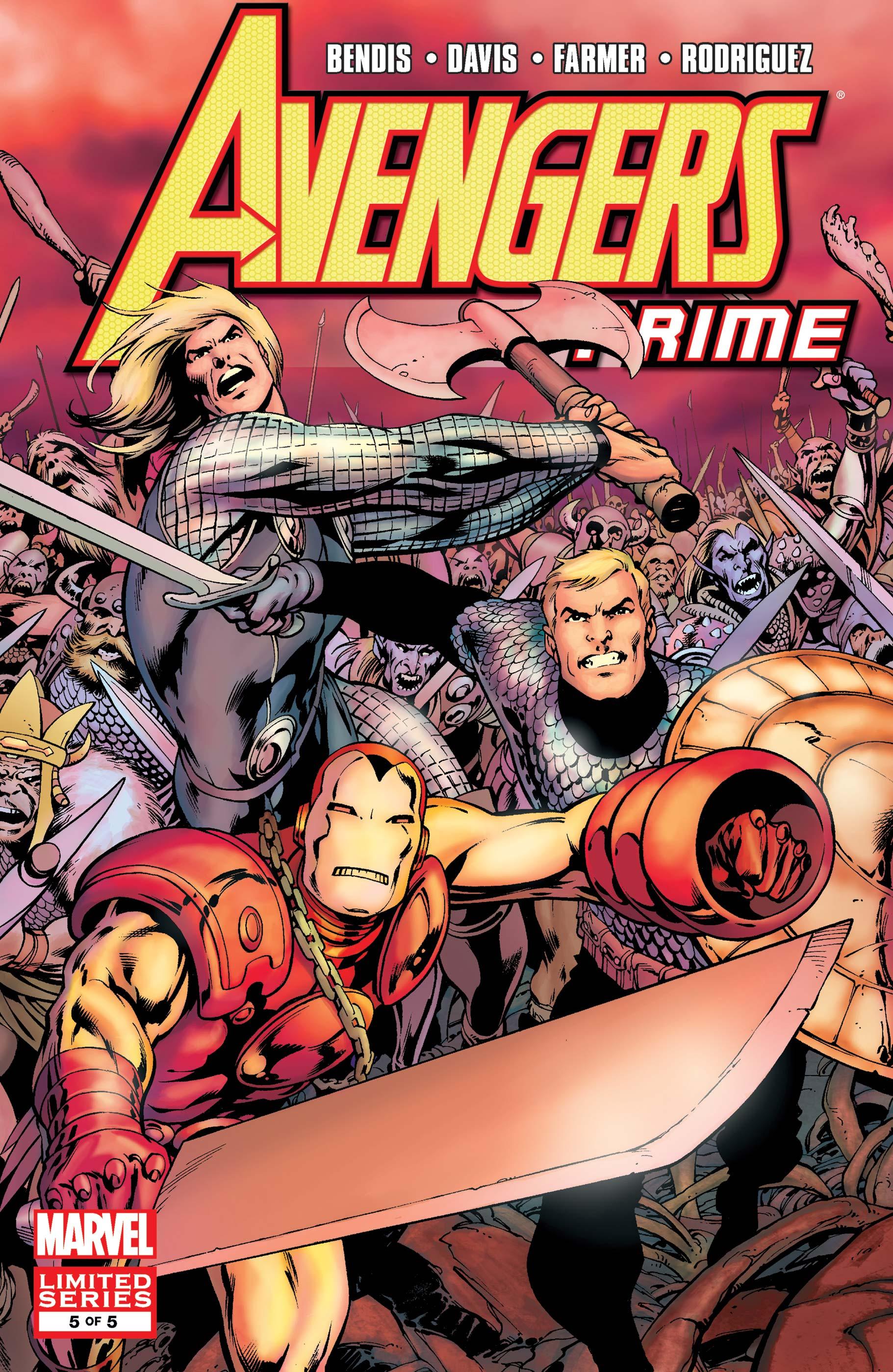 Avengers: Prime (2010) #5