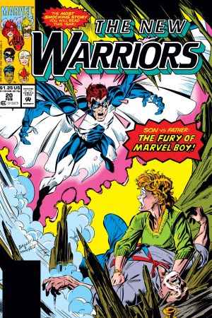 New Warriors (1990) #20