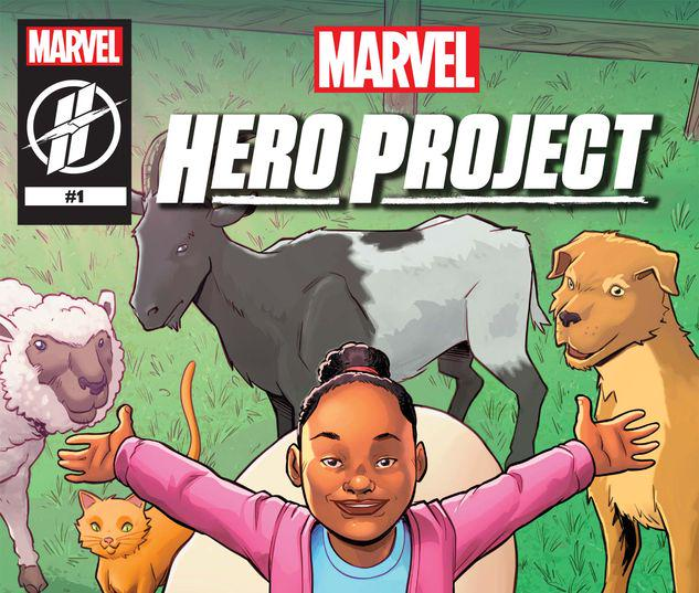MARVEL'S HERO PROJECT SEASON 1: GENESIS THE AMAZING ANIMAL ALLY #1