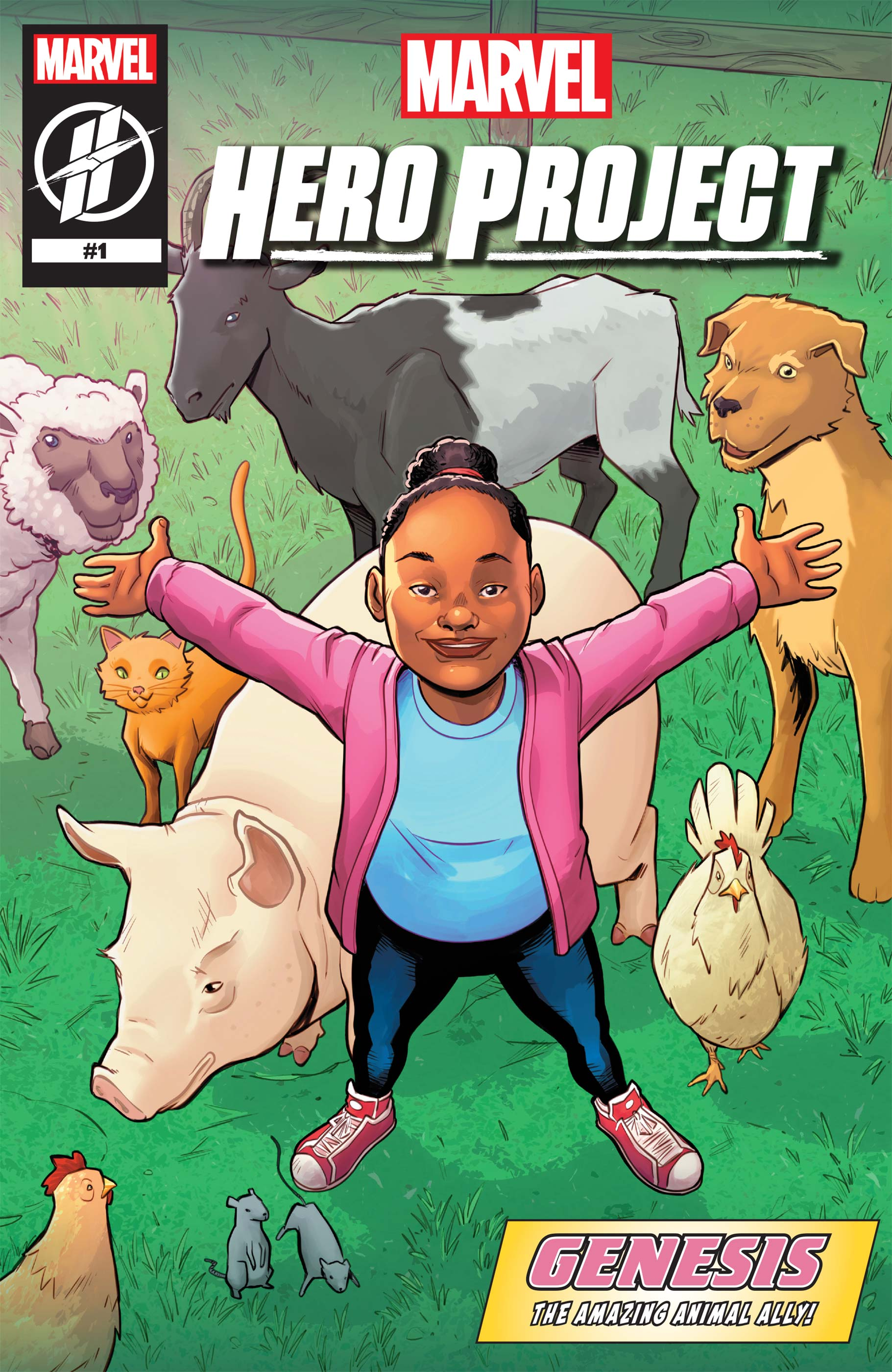 Marvel's Hero Project Season 1: Genesis the Amazing Animal Ally (2019) #1