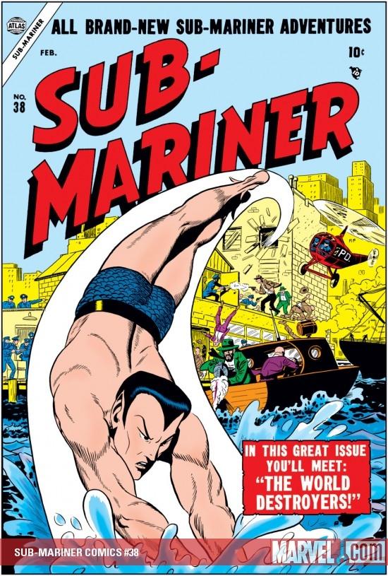 Sub-Mariner Comics (1941) #38