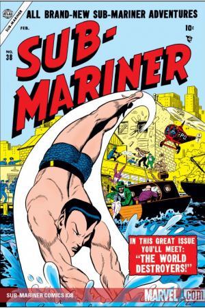 Sub-Mariner Comics #38
