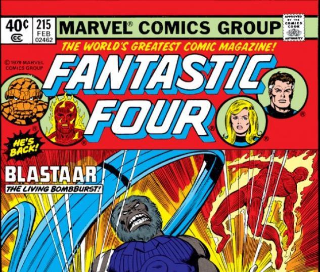 FANTASTIC FOUR #215