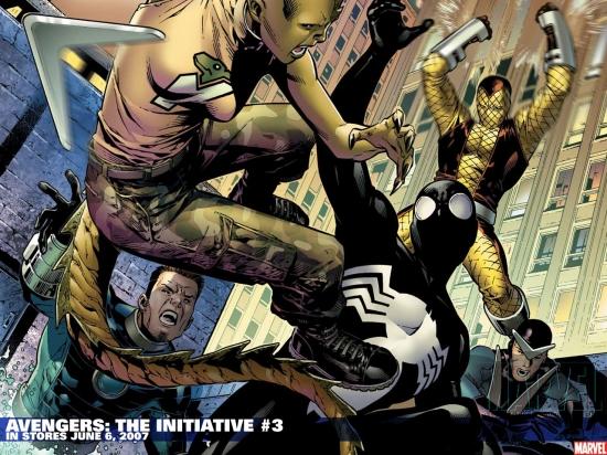 Avengers: The Initiative (2007) #3 Wallpaper