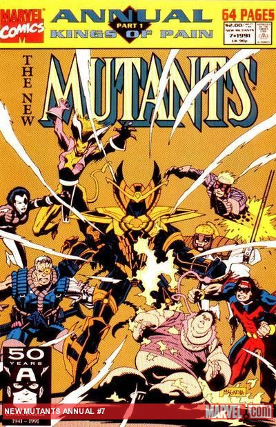 New Mutants Annual (1984) #7