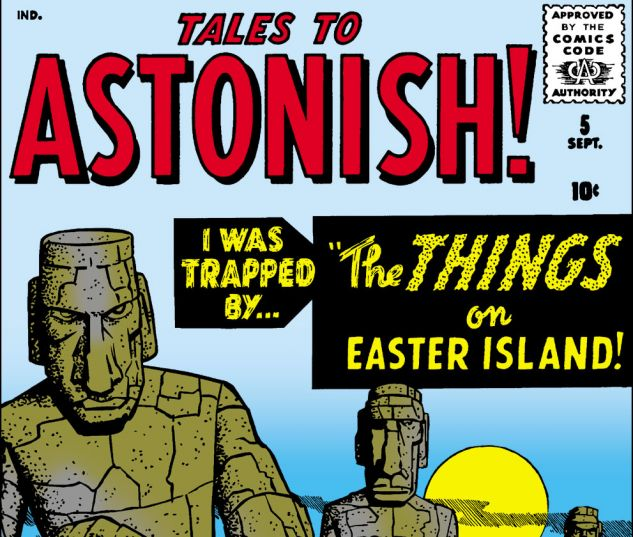 Tales to Astonish (1959) #5 Cover