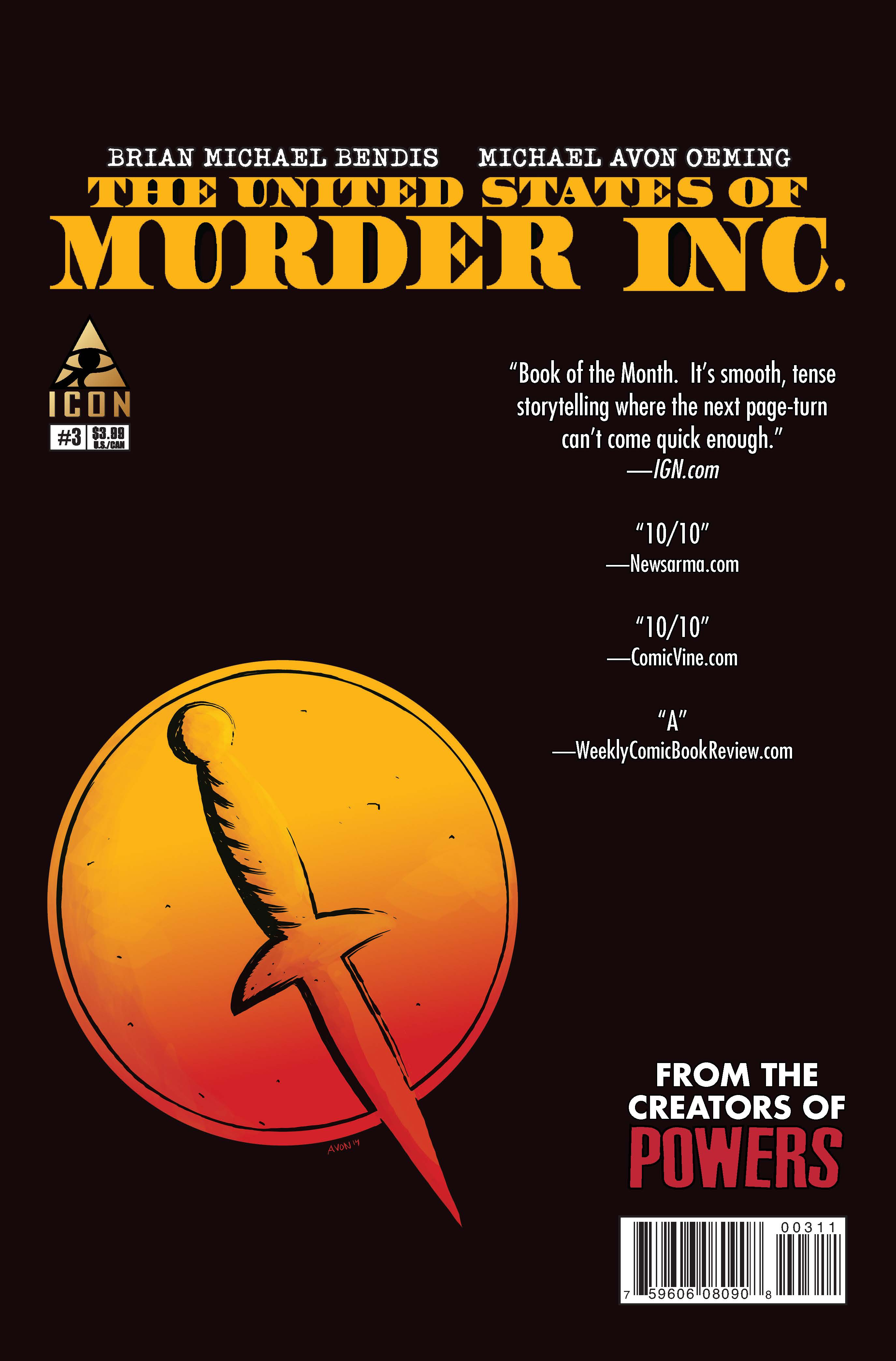 The United States of Murder Inc. (2014) #3