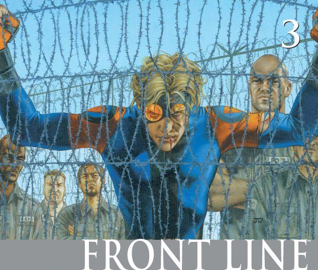 CIVIL WAR: FRONT LINE (2006) #3 Cover