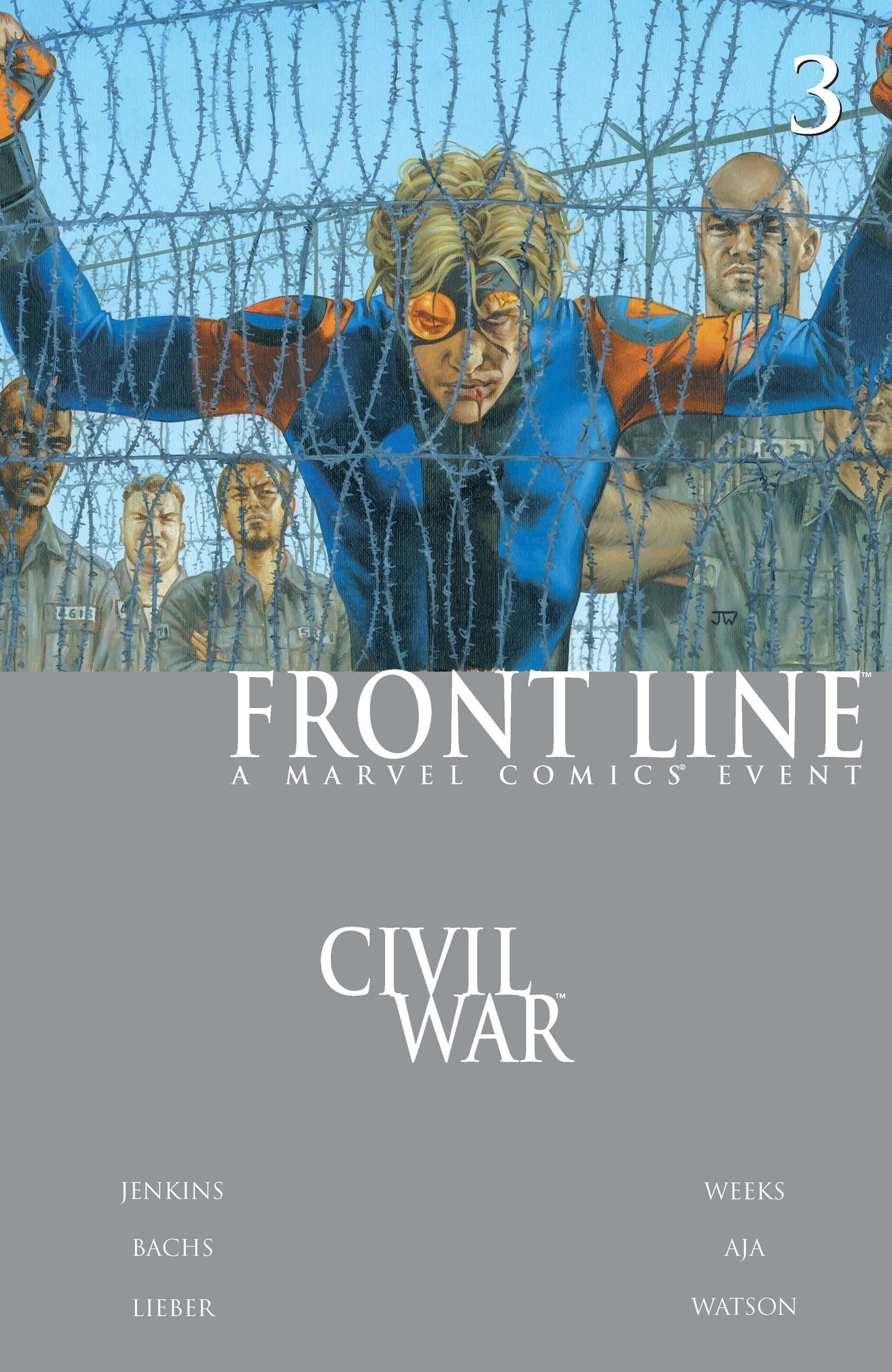 Civil War: Front Line (2006) #3