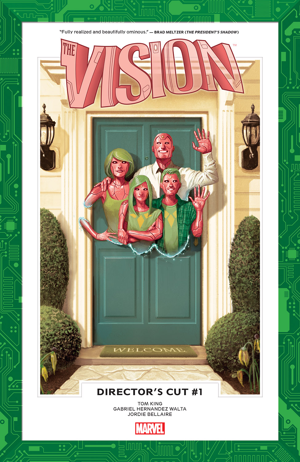Vision: Director's Cut (2017) #1