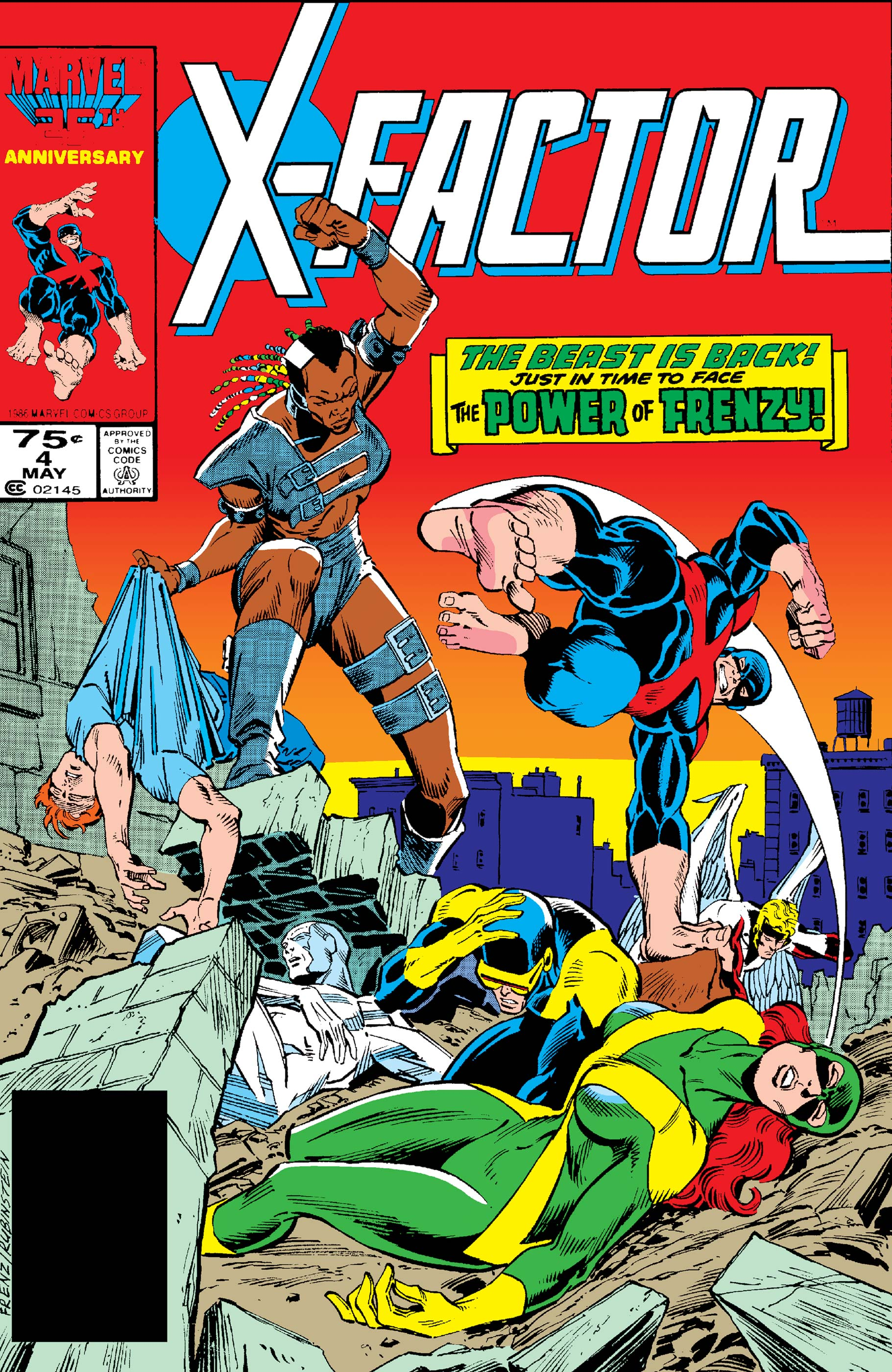 X-Factor (1986) #4