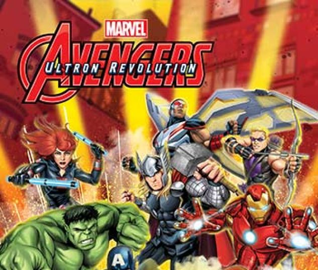 cover from Marvel Universe Avengers: Ultron Revolution (Digital Comic) (2017) #1