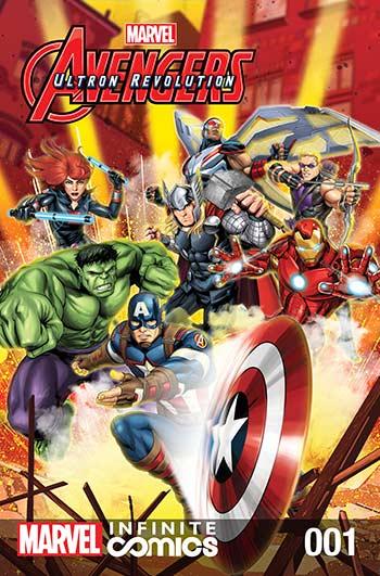 Marvel Universe Avengers: Ultron Revolution (2017) #1