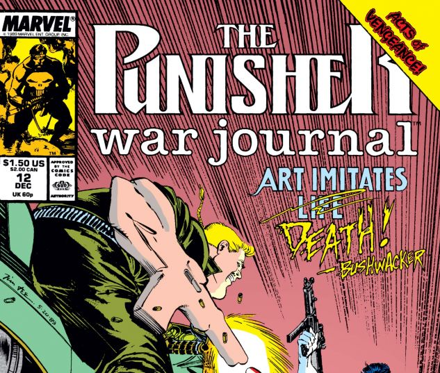 Cover for PUNISHER WAR JOURNAL 12