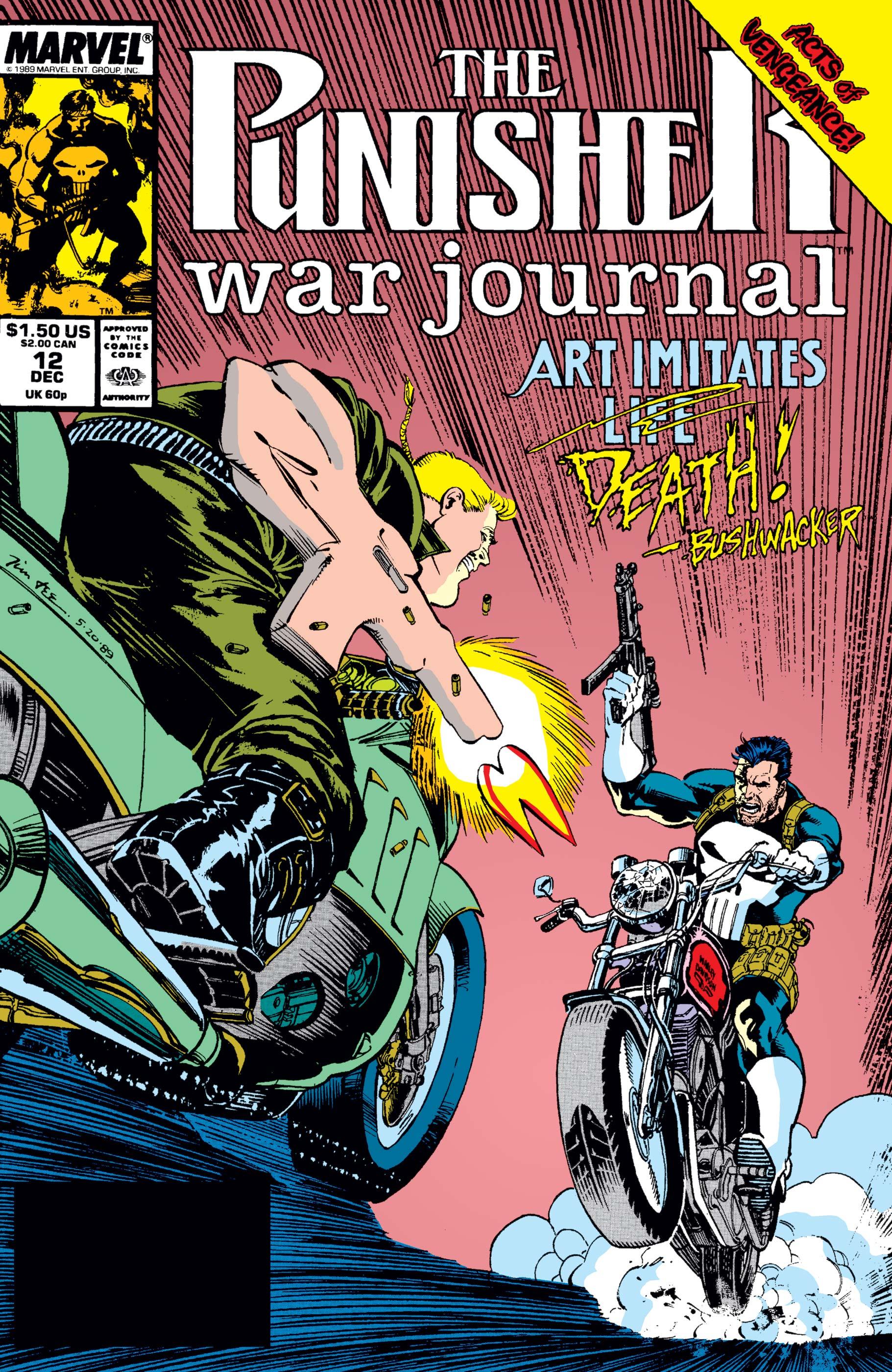 Punisher War Journal (1988) #12