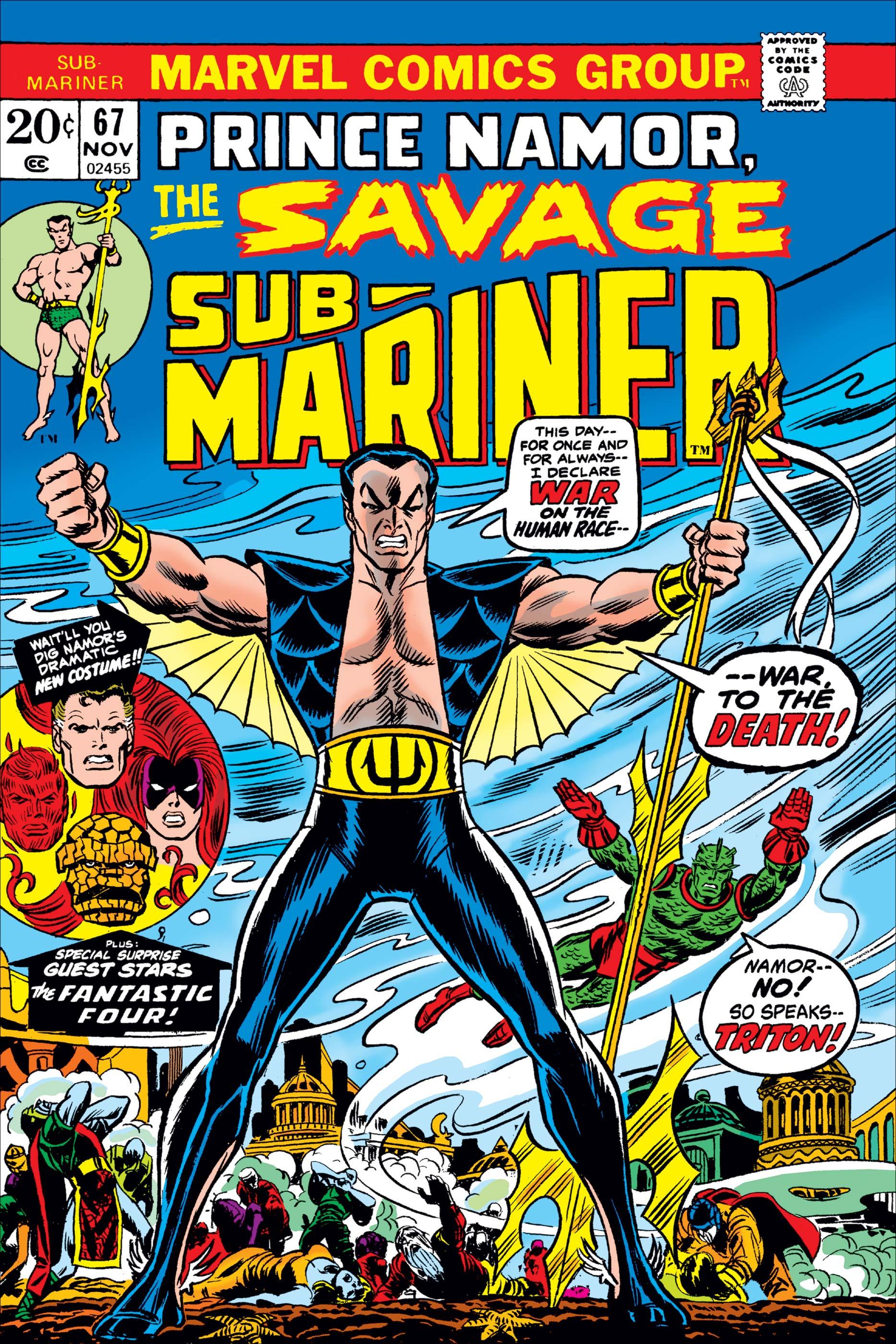 Sub-Mariner (1968) #67
