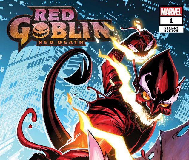 RED GOBLIN: RED DEATH 1 WOODS VARIANT #1