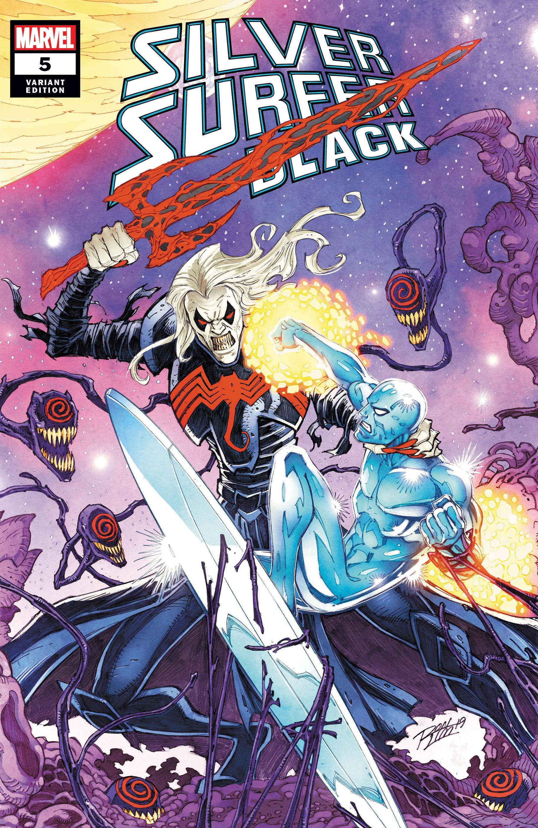 Silver Surfer: Black (2019) #5 (Variant)