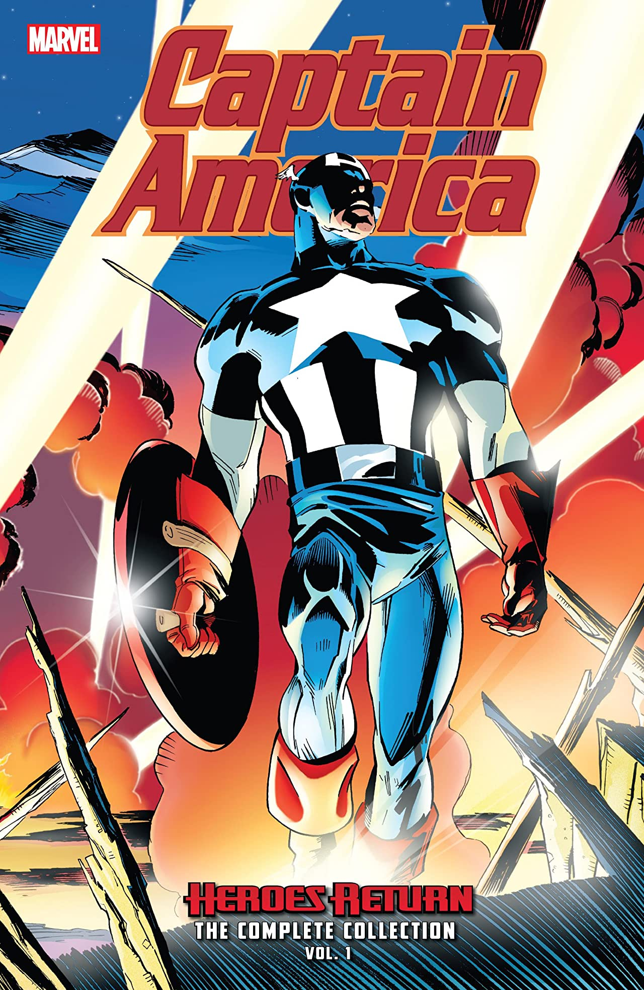 Captain America: Heroes Return - The Complete Collection Vol. 1 (Trade Paperback)