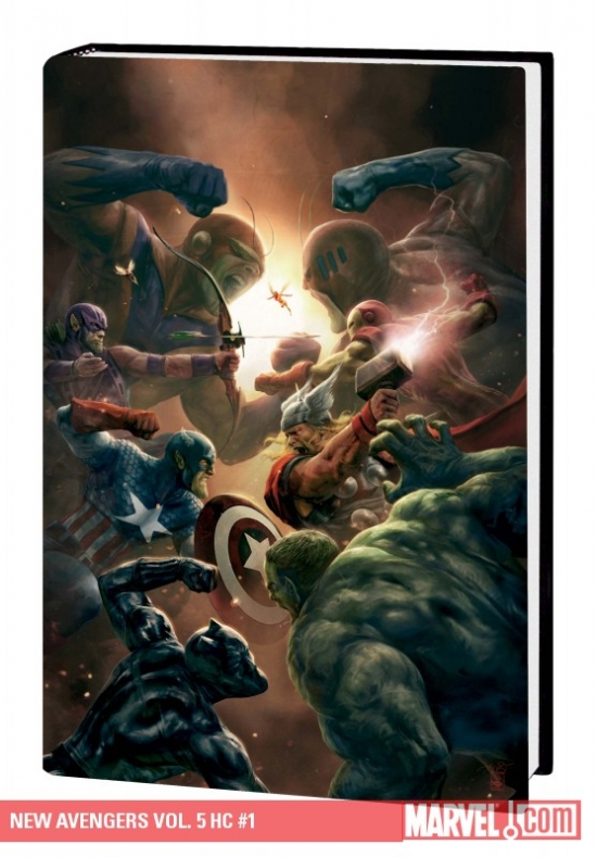 New Avengers Vol. 5 (Hardcover)