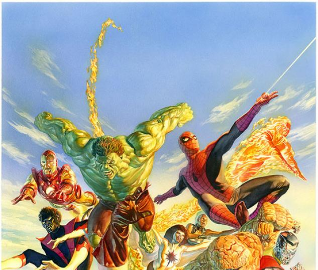 SECRET WARS ALEX ROSS POSTER #0