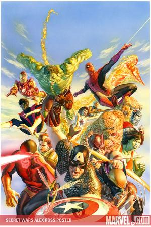 Secret Wars Alex Ross Poster (2008) #1