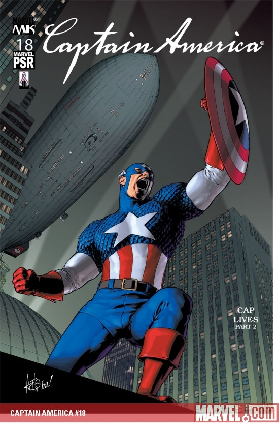 Captain America (2002) #18