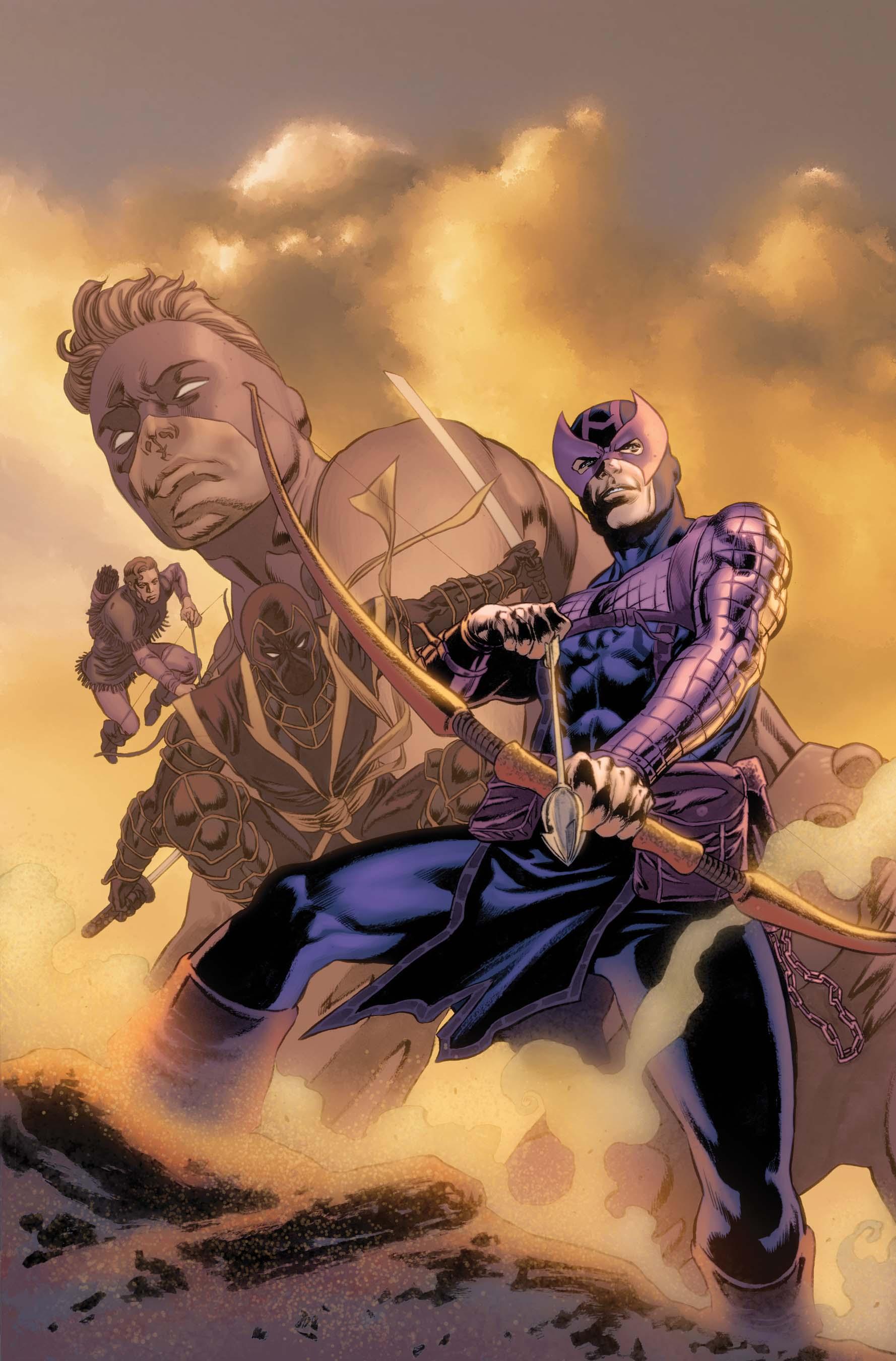 Hawkeye: Blind Spot (2011) #4