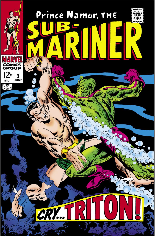 Sub-Mariner (1968) #2
