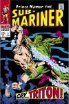 Sub-Mariner (1968) #2 Cover