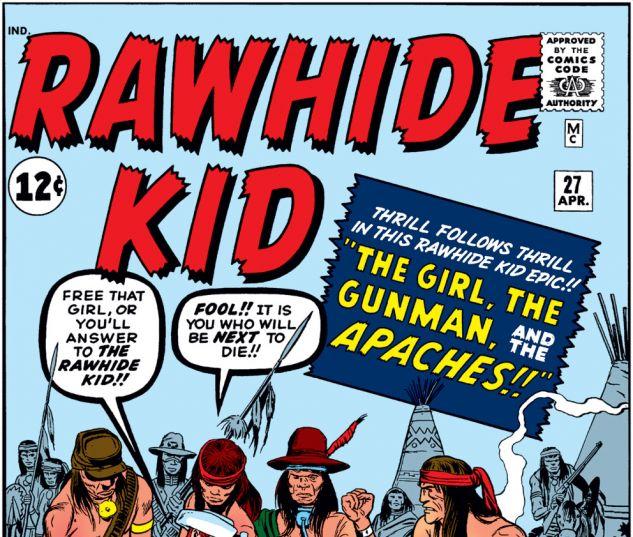 Rawhide Kid (1960) #27 Cover